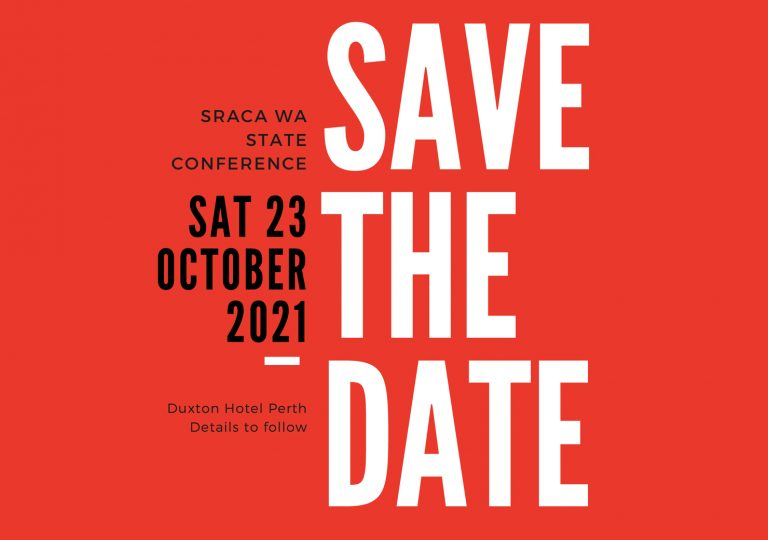 Save the Date! Saturday 23 October 2021